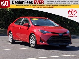 2019 Toyota Corolla Le Toyota Dealer Serving Canton Ga New And